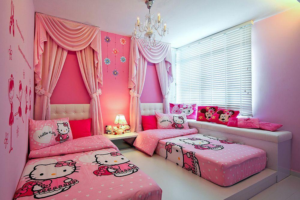 Bilik Tidur Hello Kitty