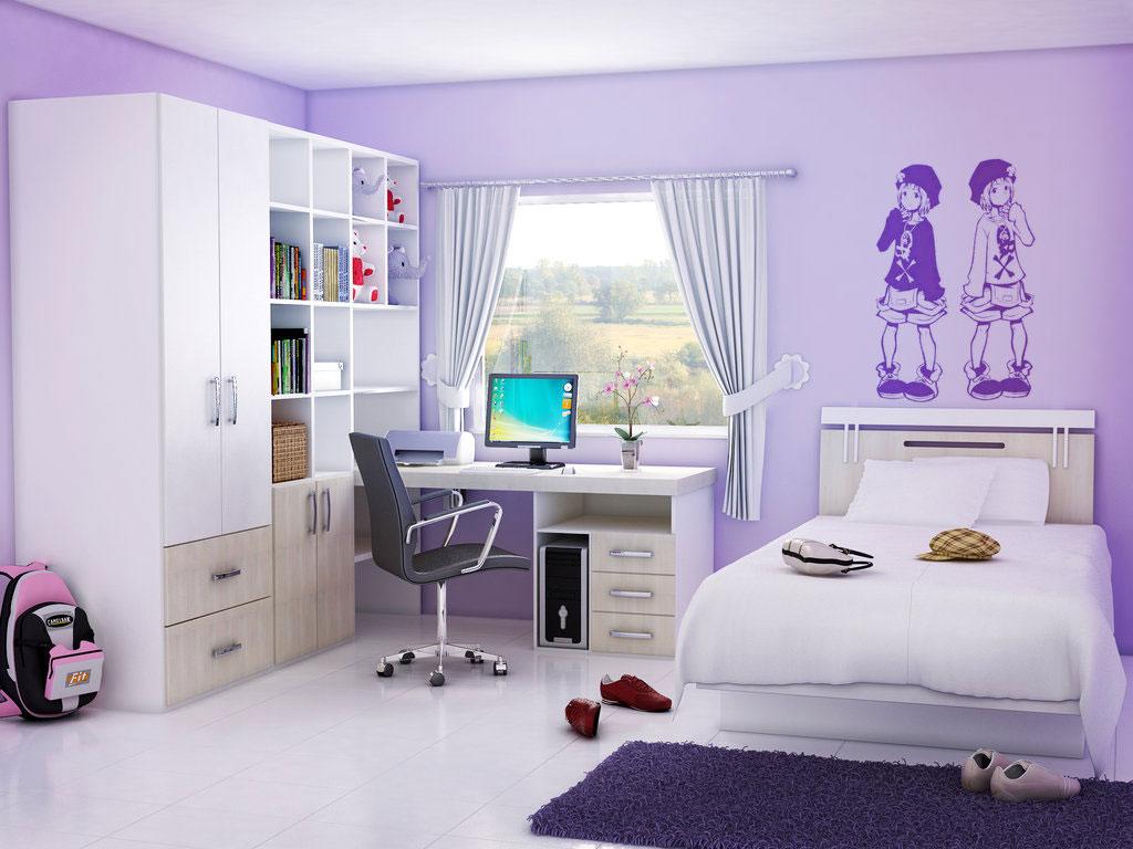 20 Idea Hiasan Dalaman Bilik Tidur Anak Perempuan Yang Menarik