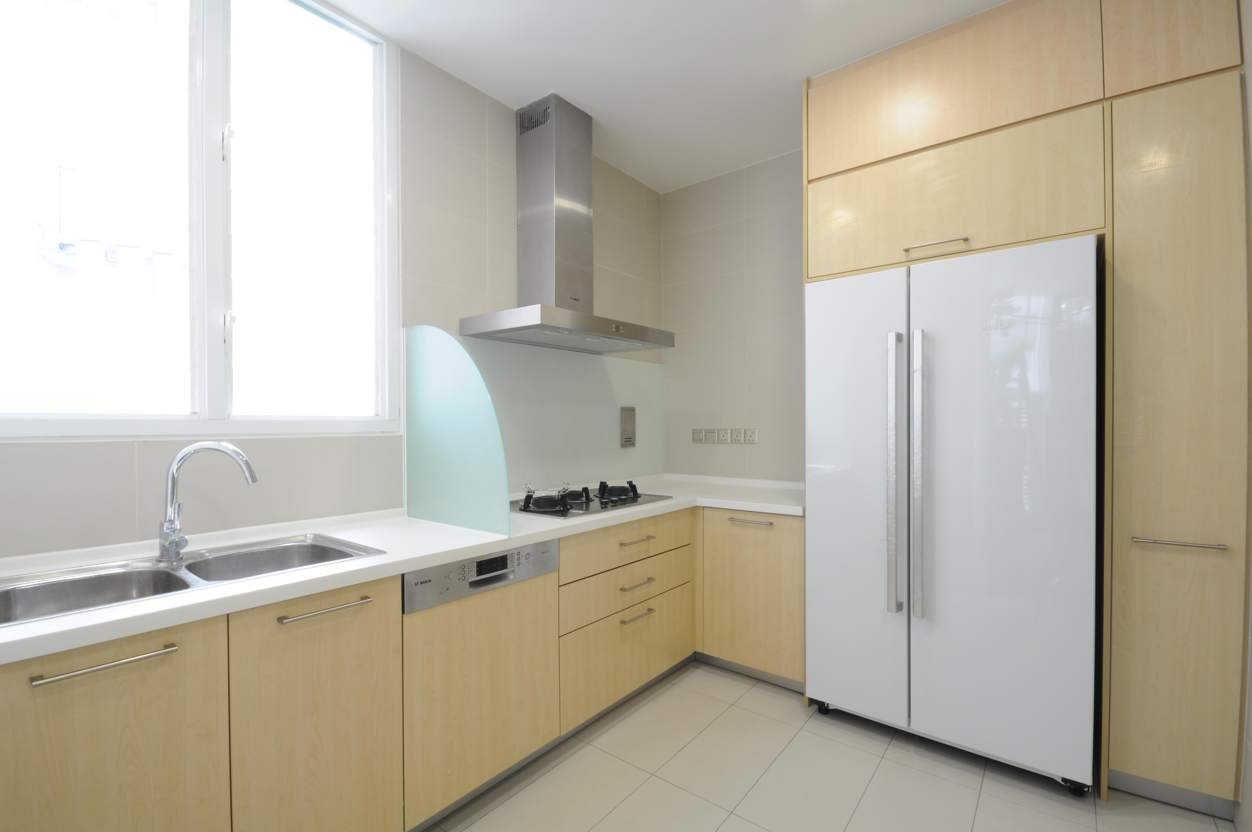 View In Gallery Idea Kabinet Dapur Berkonsepkan Natural Menggunakan Elemen Kayu