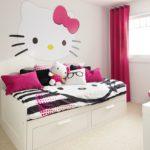 Comel Bergaya : 13 Bilik Tidur Hello Kitty Untuk Anak Anda