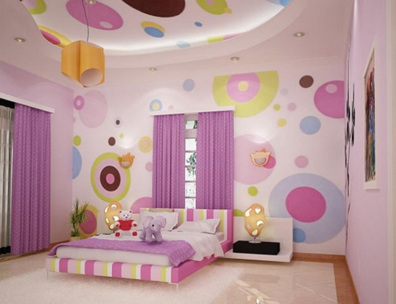 Idea bilik tidur dengan wall art pelbagai corak dan warna