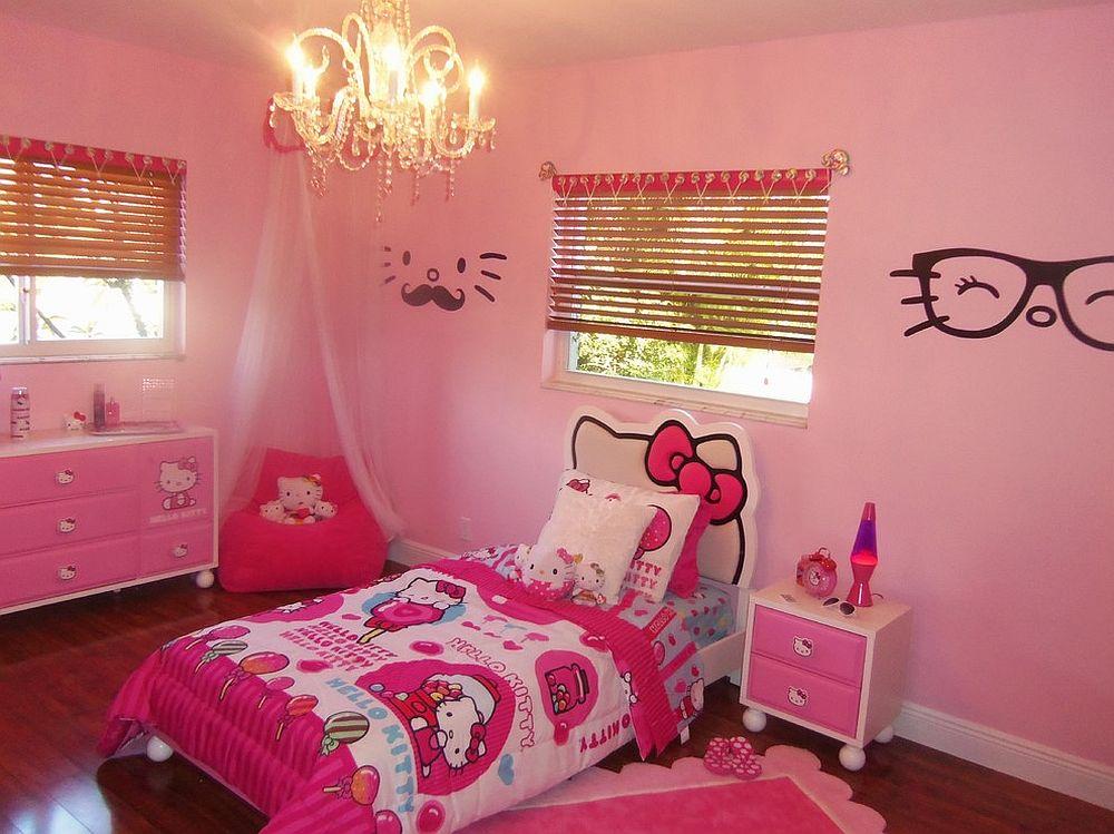 Comel Bergaya 13 Bilik Tidur Hello Kitty Untuk Anak Anda