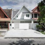 Konsep Klasik dan Moden Digabungkan Dalam Rekaan Rumah Teres ini Untuk Hasil Yang Superb