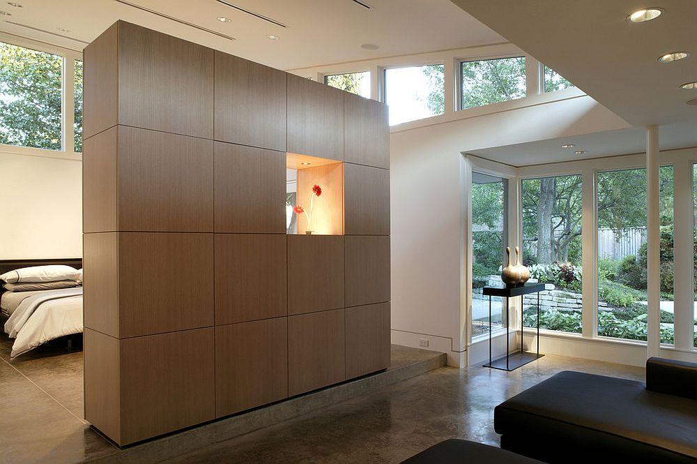 View In Gallery Kabinet Bilik Ini Menjimatkan Ruang Dan Juga Menjadi Alternatif Kepada Divider