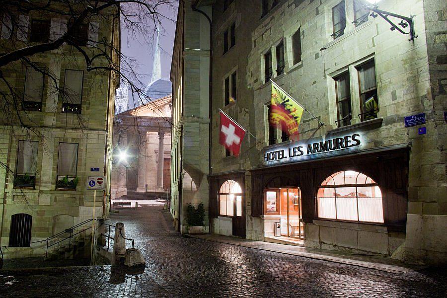 Les Armures Hotel Di Geneva