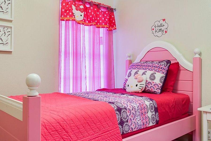 Penggunaan Watak Hello Kitty Dalam Dekorasi Bilik Membawa Mood Comel Dan Tenang