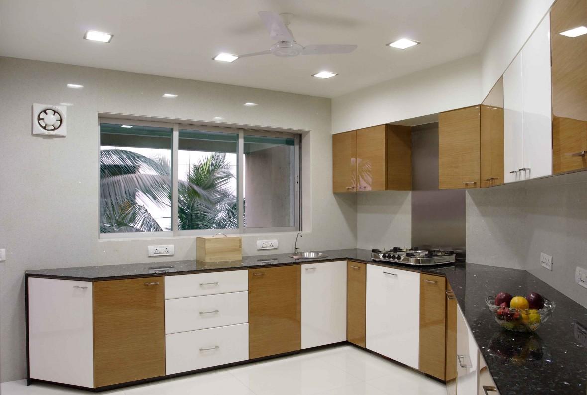 dapur sederhana besar tapi dengan hiasan dalaman berkonsepkan moden menjadikan ruang lebih menarik