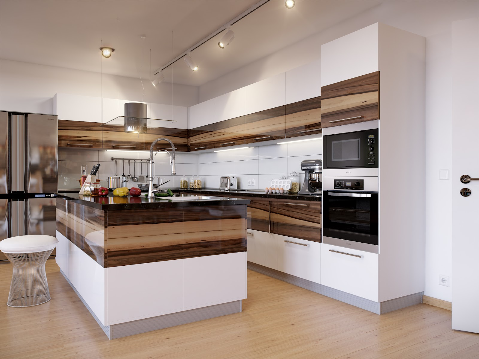 View In Gallery Dekorasi Ruang Dan Kabinet Dapur Terkini English Style