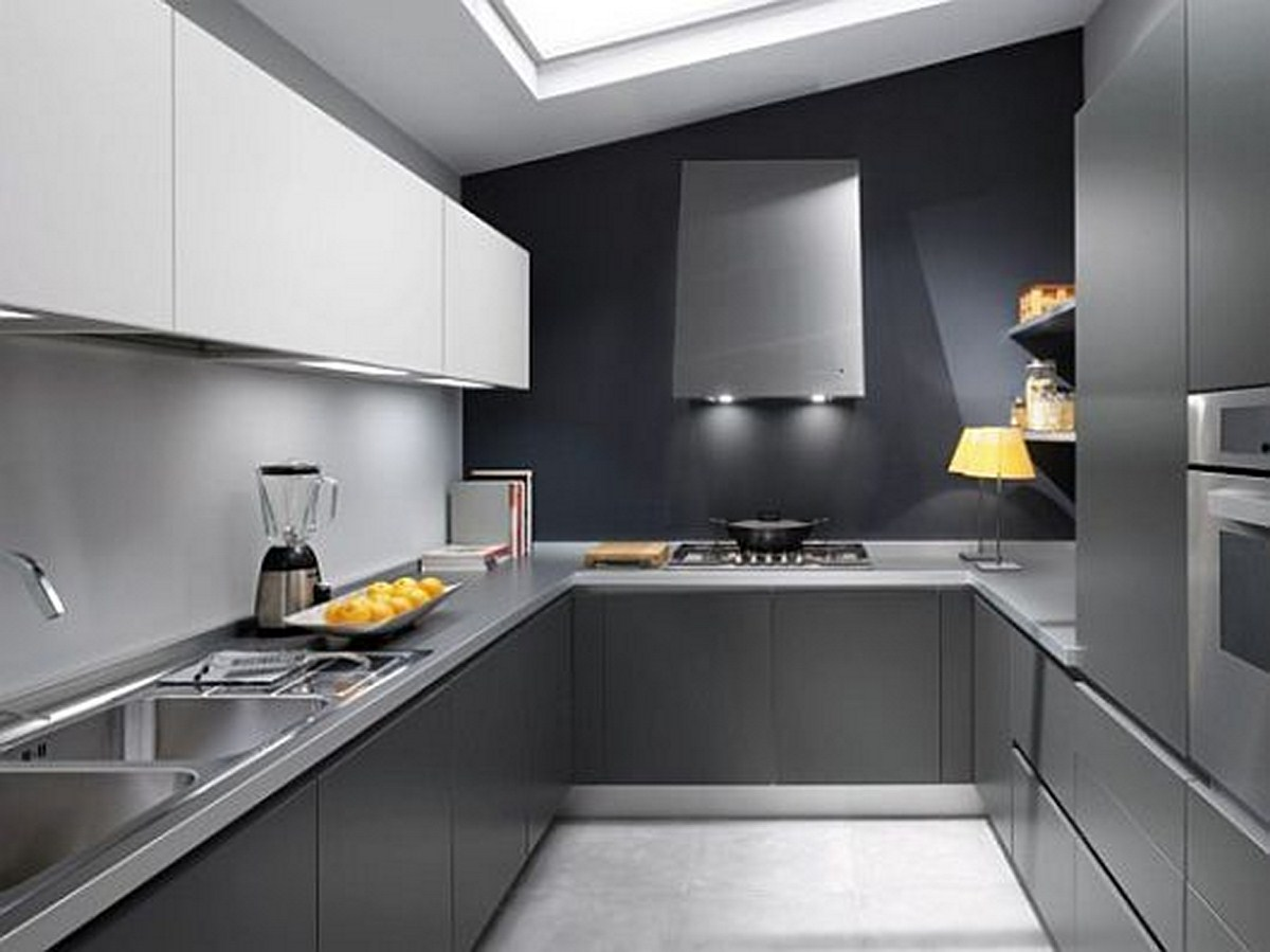 design dan hiasan dalaman dapur ini mengoptimumkan penggunaan ruang