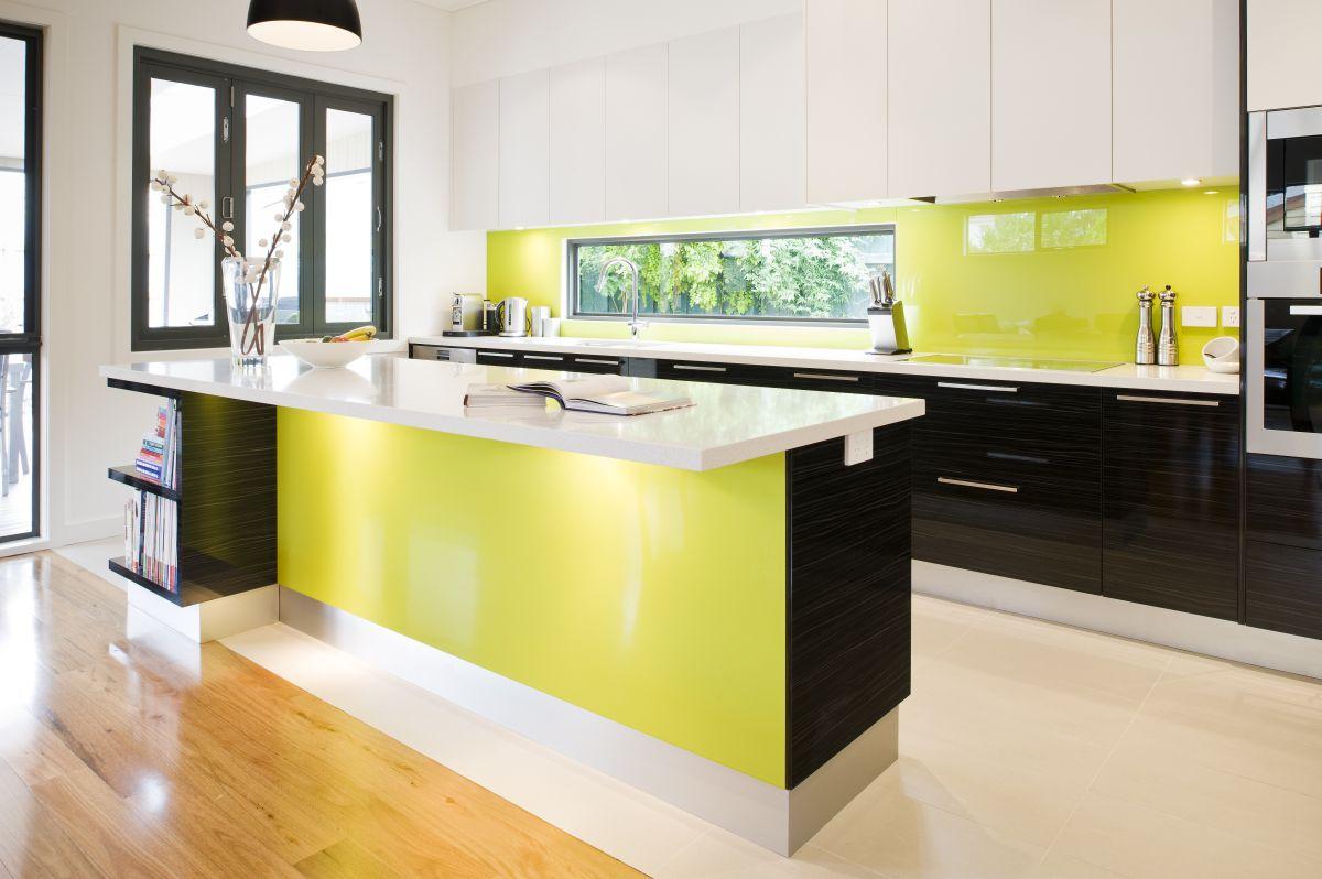 design dapur dengan kabinet dapur moden