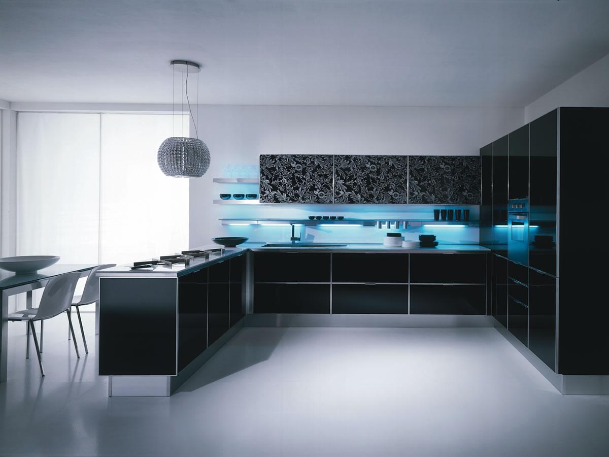 View In Gallery Gambar Dapur Moden Terkini Yang Menarik Menjadikan Ruang Nampak Elegant