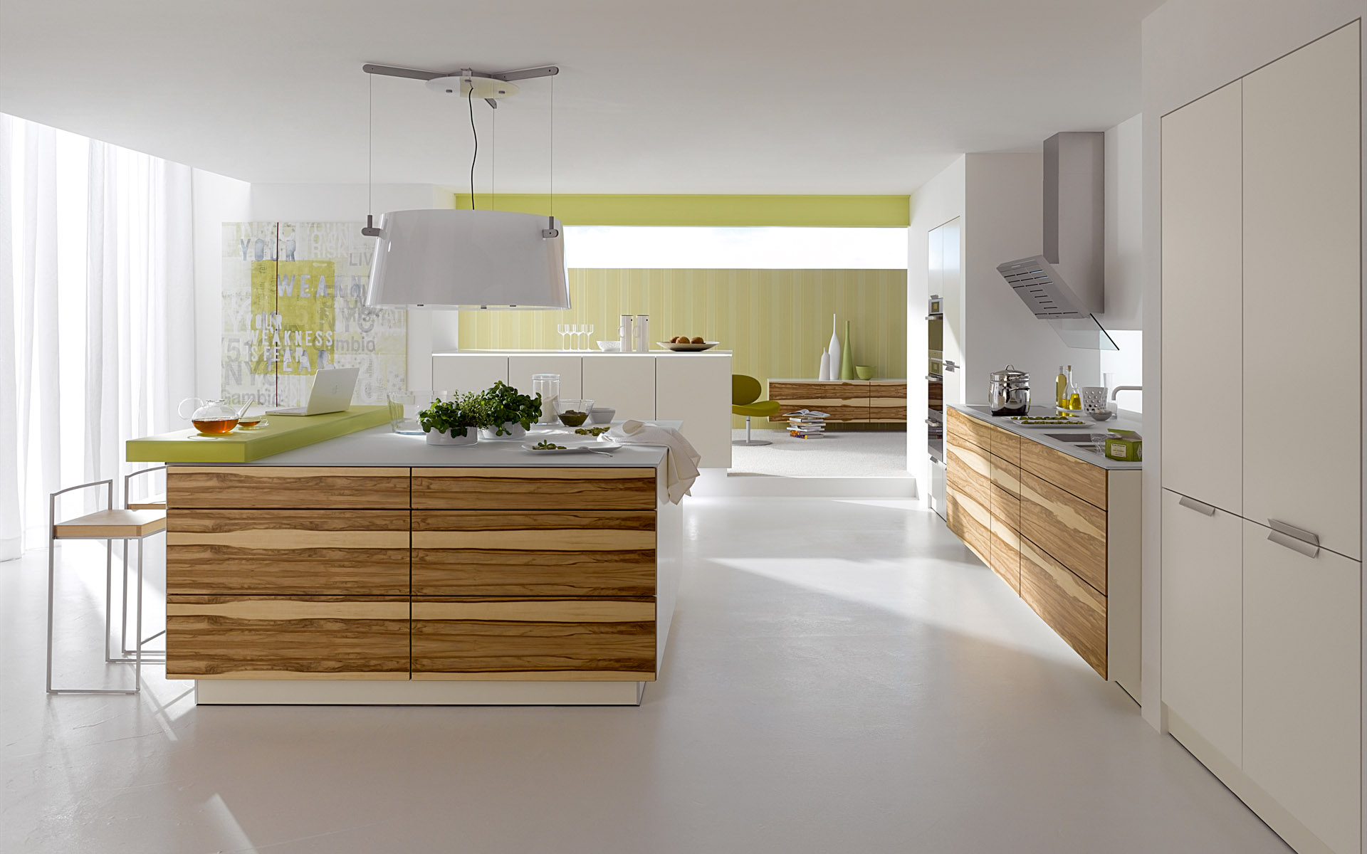 konsep moden menjadikan dapur cantik dan kemas