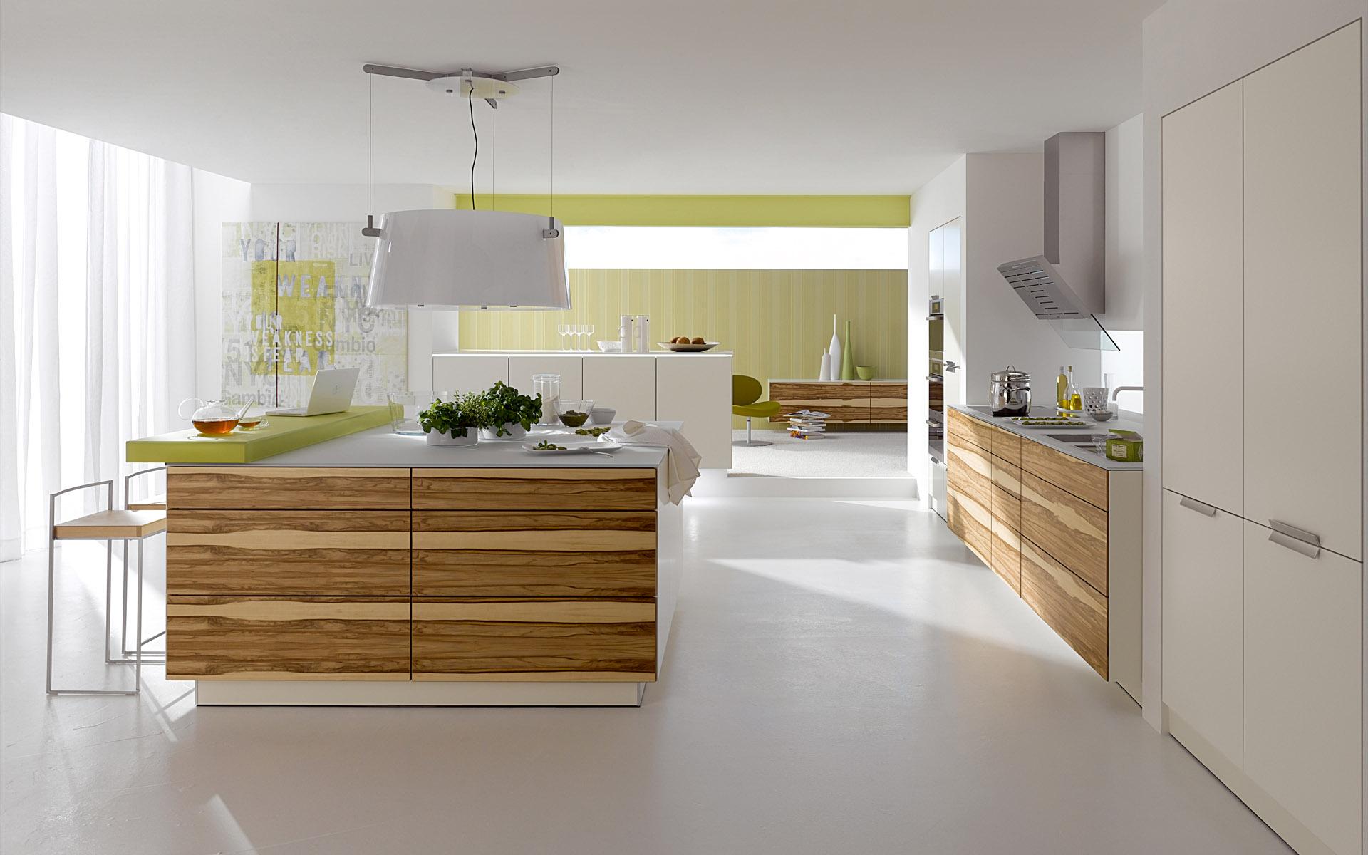 View In Gallery Konsep Moden Menjadikan Dapur Cantik Dan Kemas