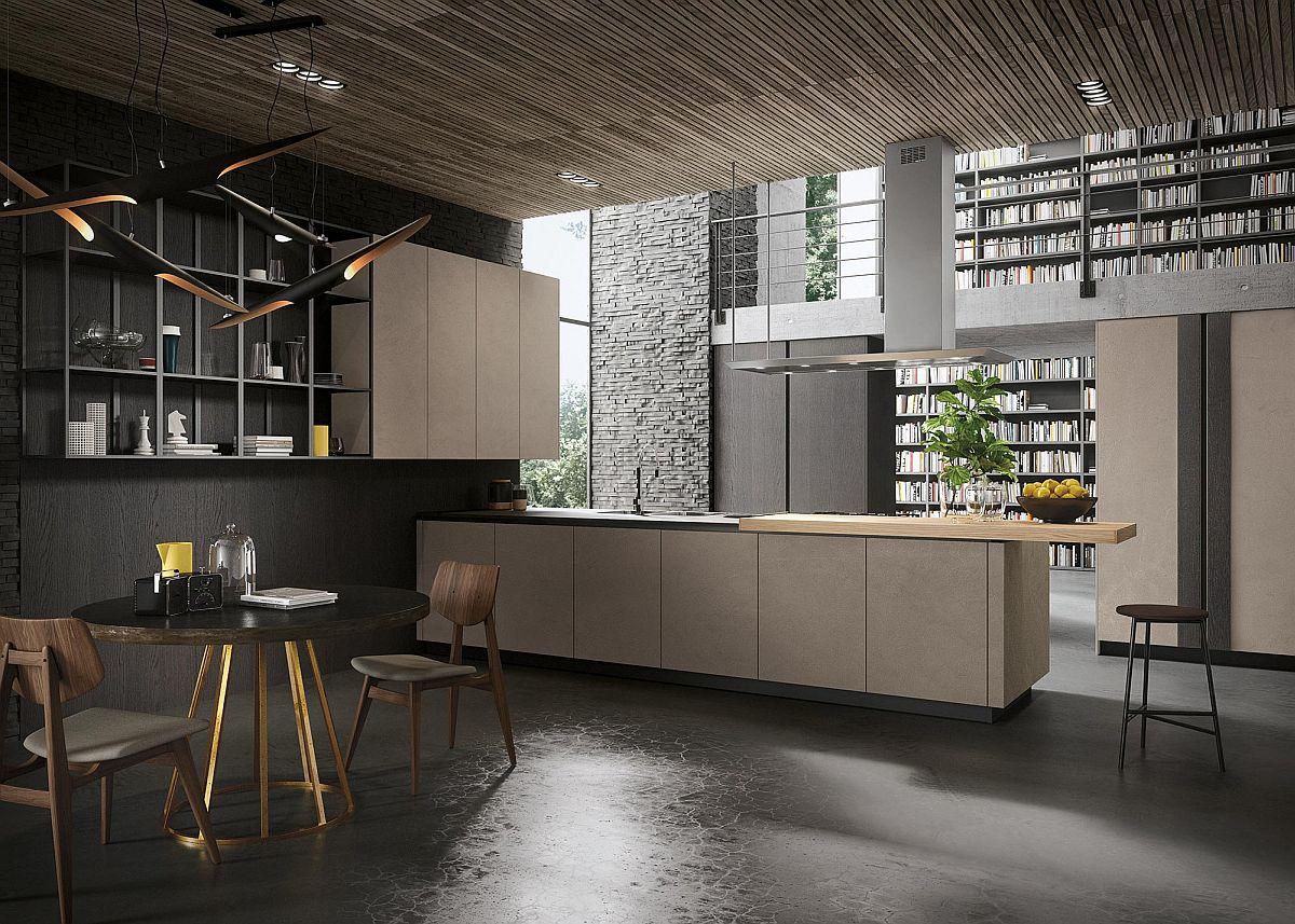 View In Gallery Dapur Mewah Ala Inggeris Dengan Konsep Minimalis Yang Sangat Bera