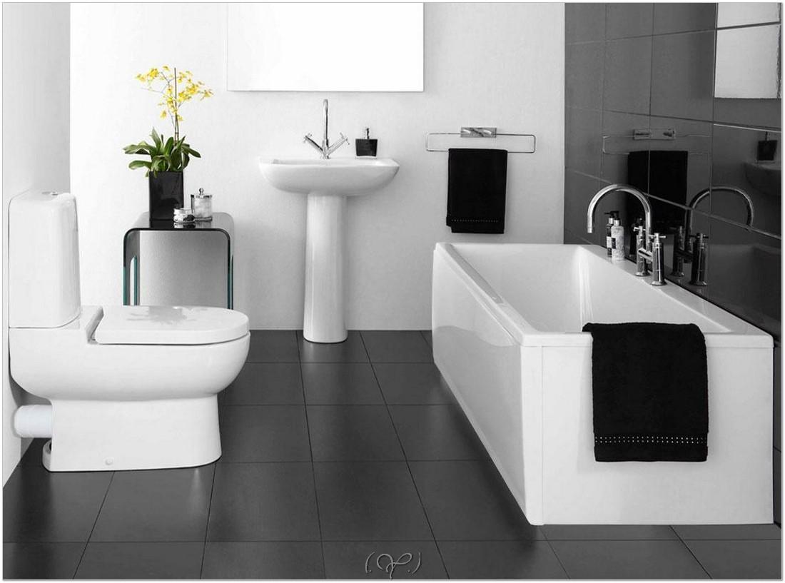 Design bilik air kecil terbaik dengan tema putih kontemporari