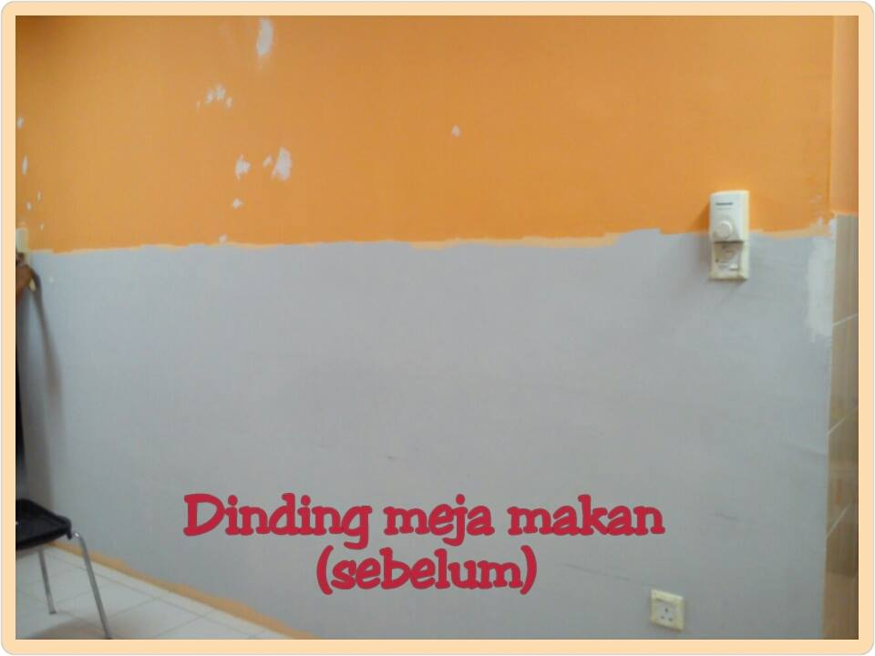 Diy Cat Dinding Kreatif Untuk Hiasan Dinding Ruang Makan Hias My