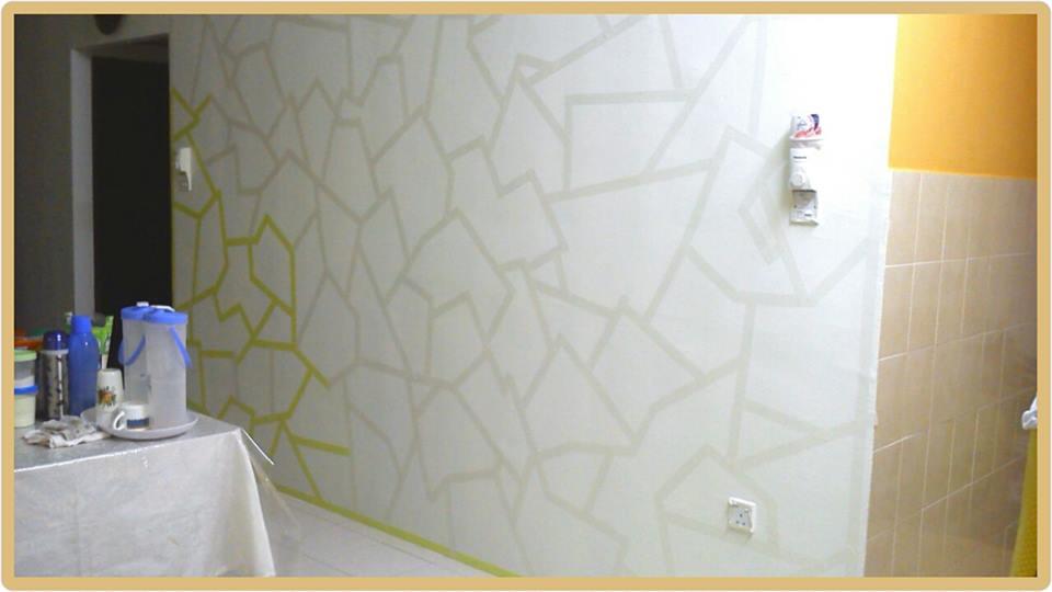 View In Gallery Diy Dinding Ruang Makan Dicat Dengan Warna Krim