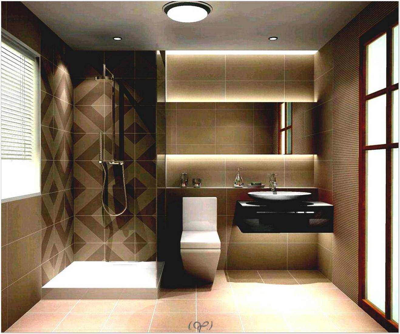 Gambar hiasan dalaman bilik air kecil dengan cahaya lampu yang awesome