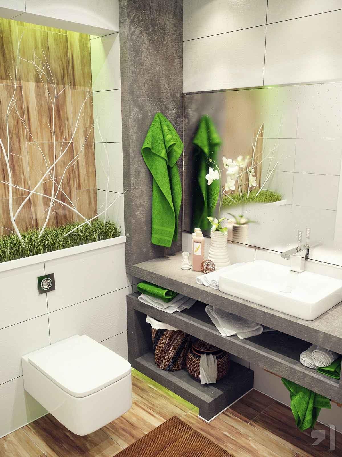 idea bilik air kecil moden stylish