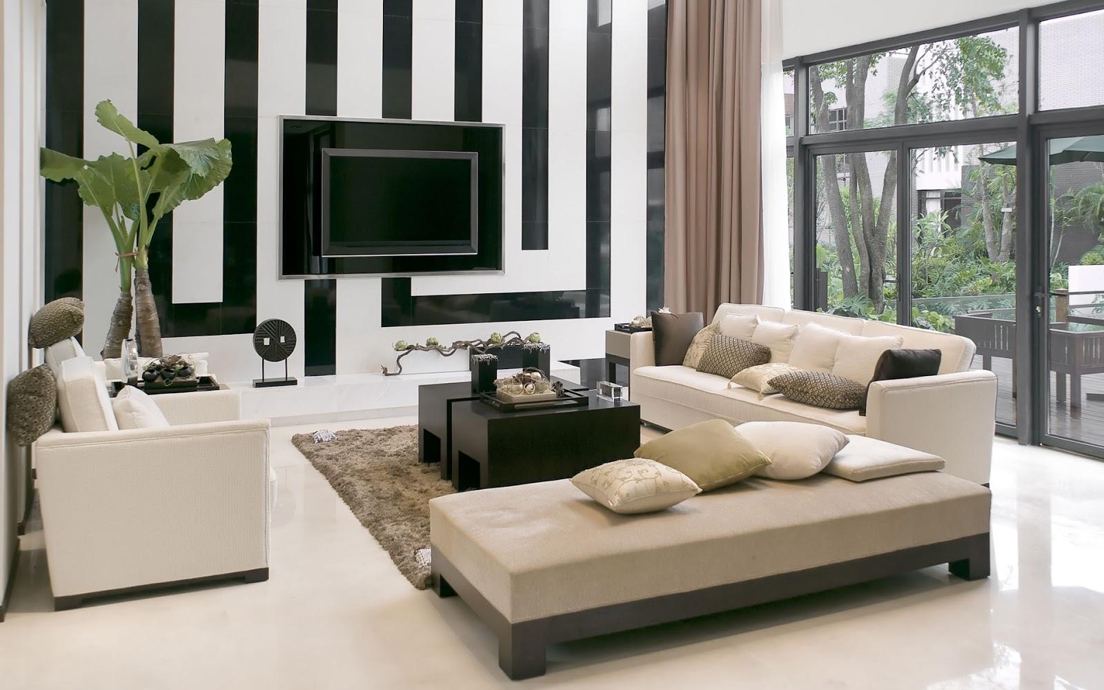 View In Gallery Dekorasi Ruang Tamu Idaman Boleh Juga Cedok Idea Ini Untuk Rumah Teres Anda