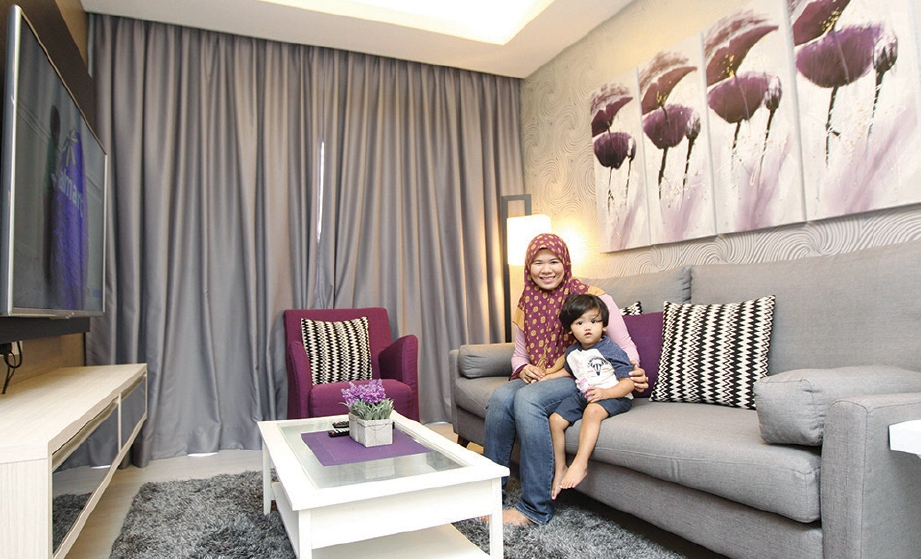 Hiasan Dalaman Ruang Tamu Apartment Moden