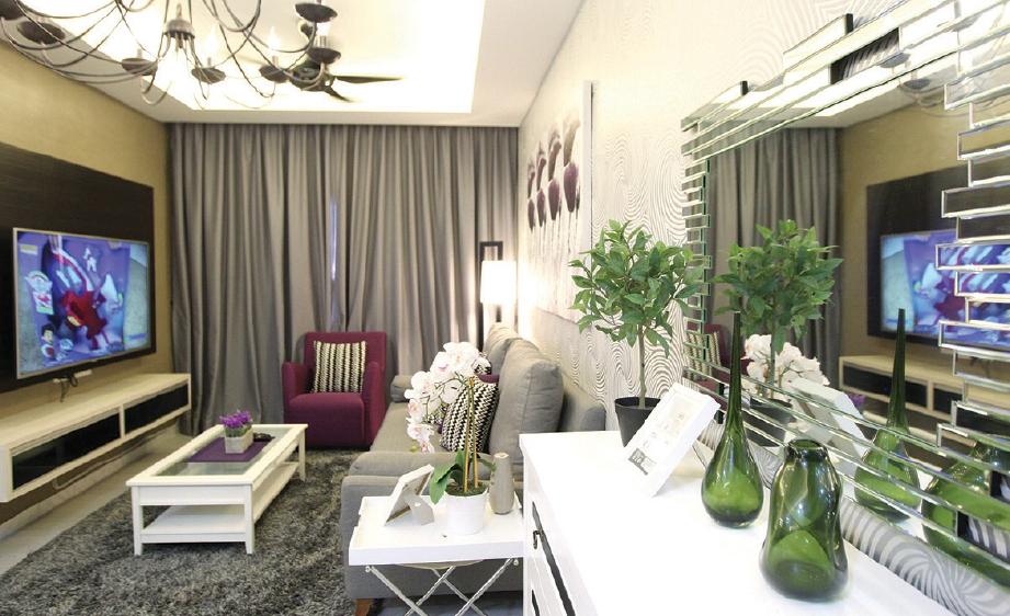 Hiasan Dalaman Ruang Tamu Ringkas Rumah Apartment