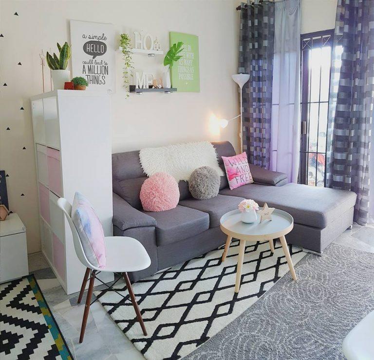 Hiasan dalaman rumah gaya sederhana perabot moden