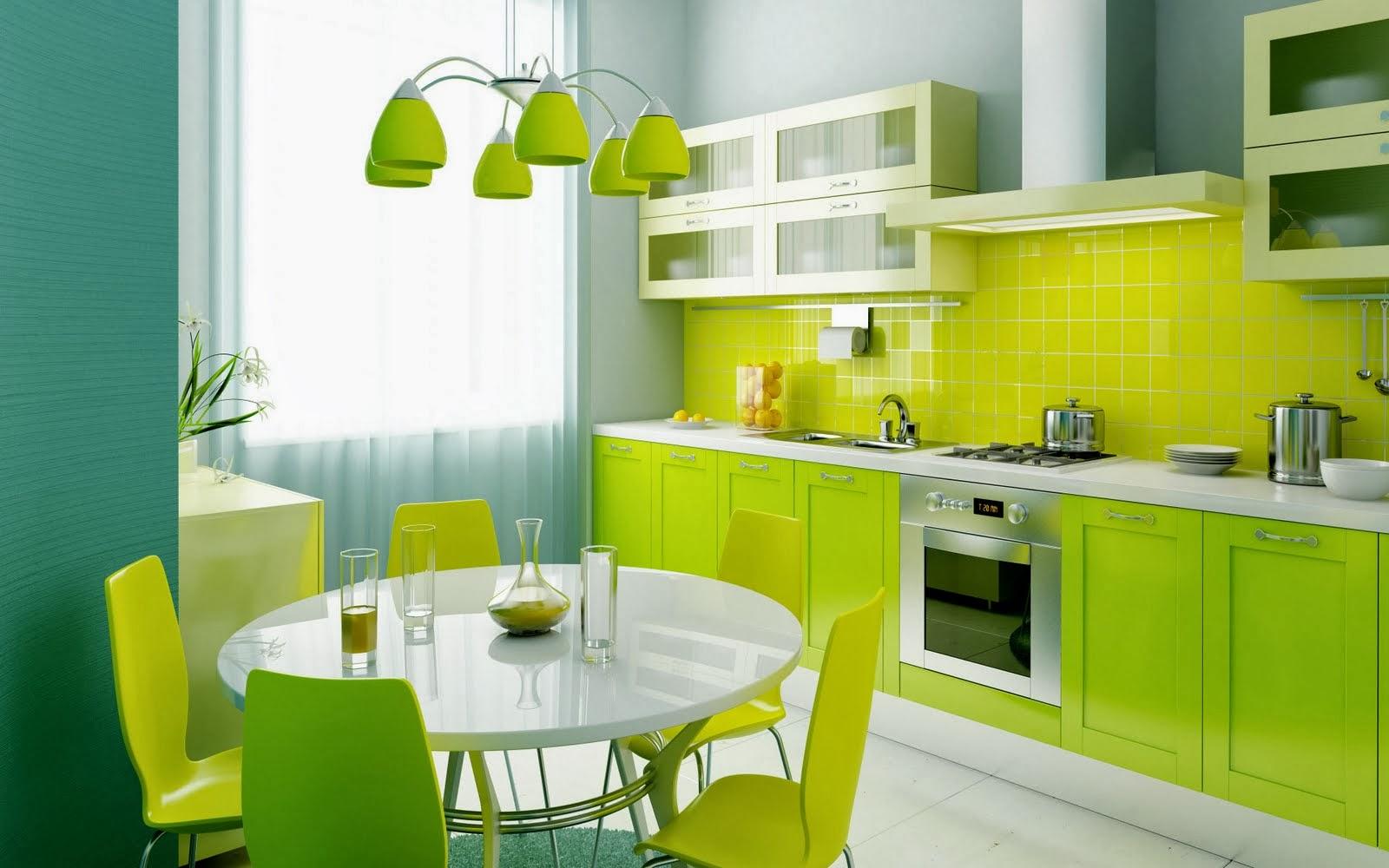 1 Dapur Hijau Ketenangan Semasa Memasak Dapat Direalisasikan Dengan Minimalis Ini