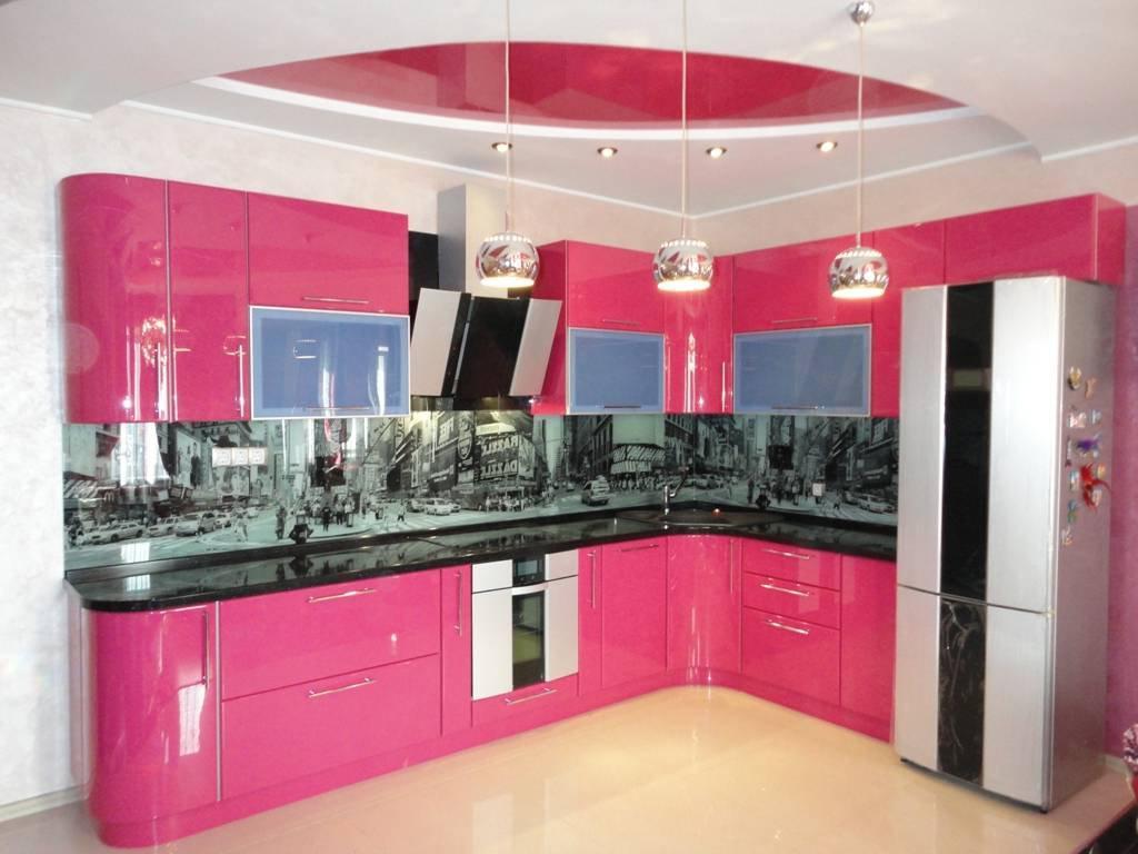 View In Gallery Idea Hiasan Dapur Pink Moden
