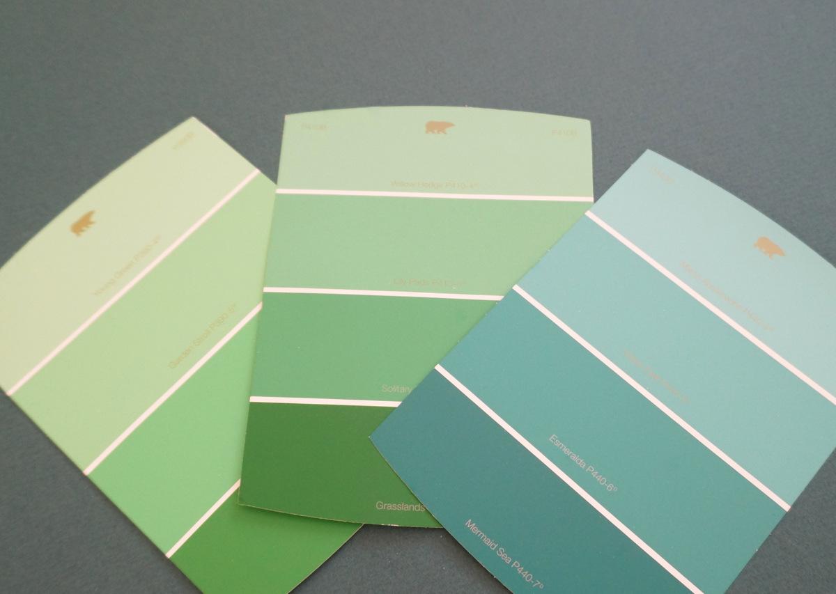 View In Gallery Katalog Warna Hijau Dengan Nama Dan Kod