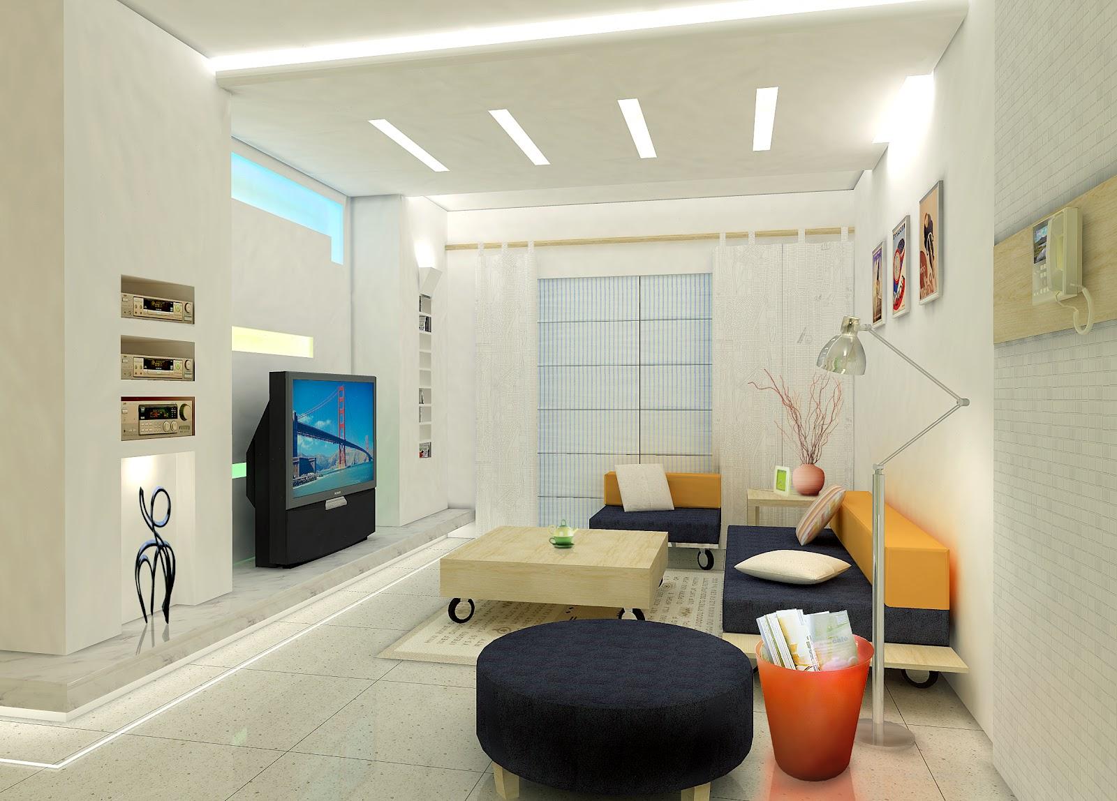 Koleksi Idea Dekorasi Ruang Tamu Rumah Teres Setingkat - Hias.my