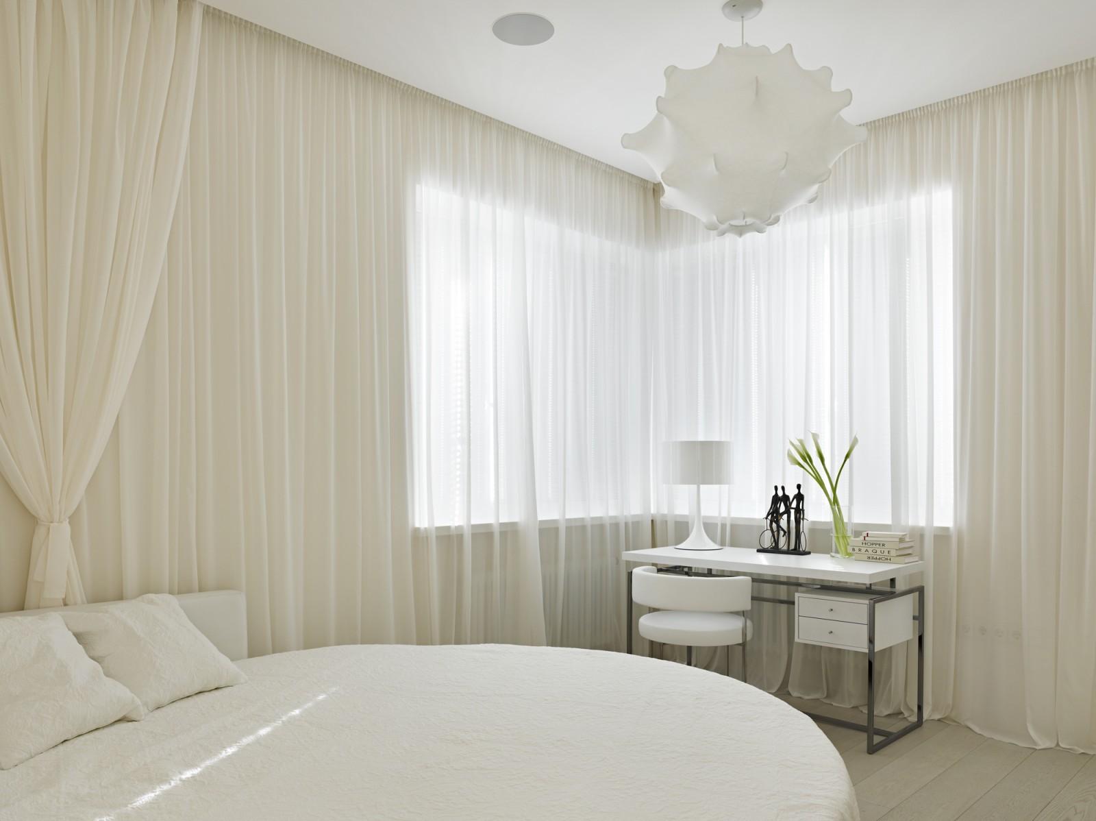 View In Gallery Bilik Tidur Serba Putih Yang Dengan Langsir Mewah