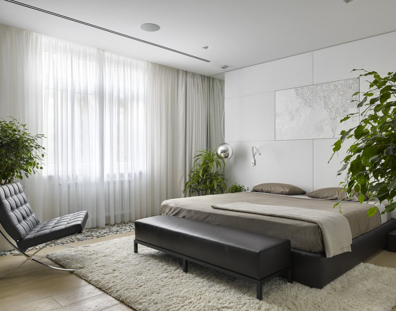 View In Gallery Dekorasi Bilik Tidur Utama Moden Dengan Warna Terang