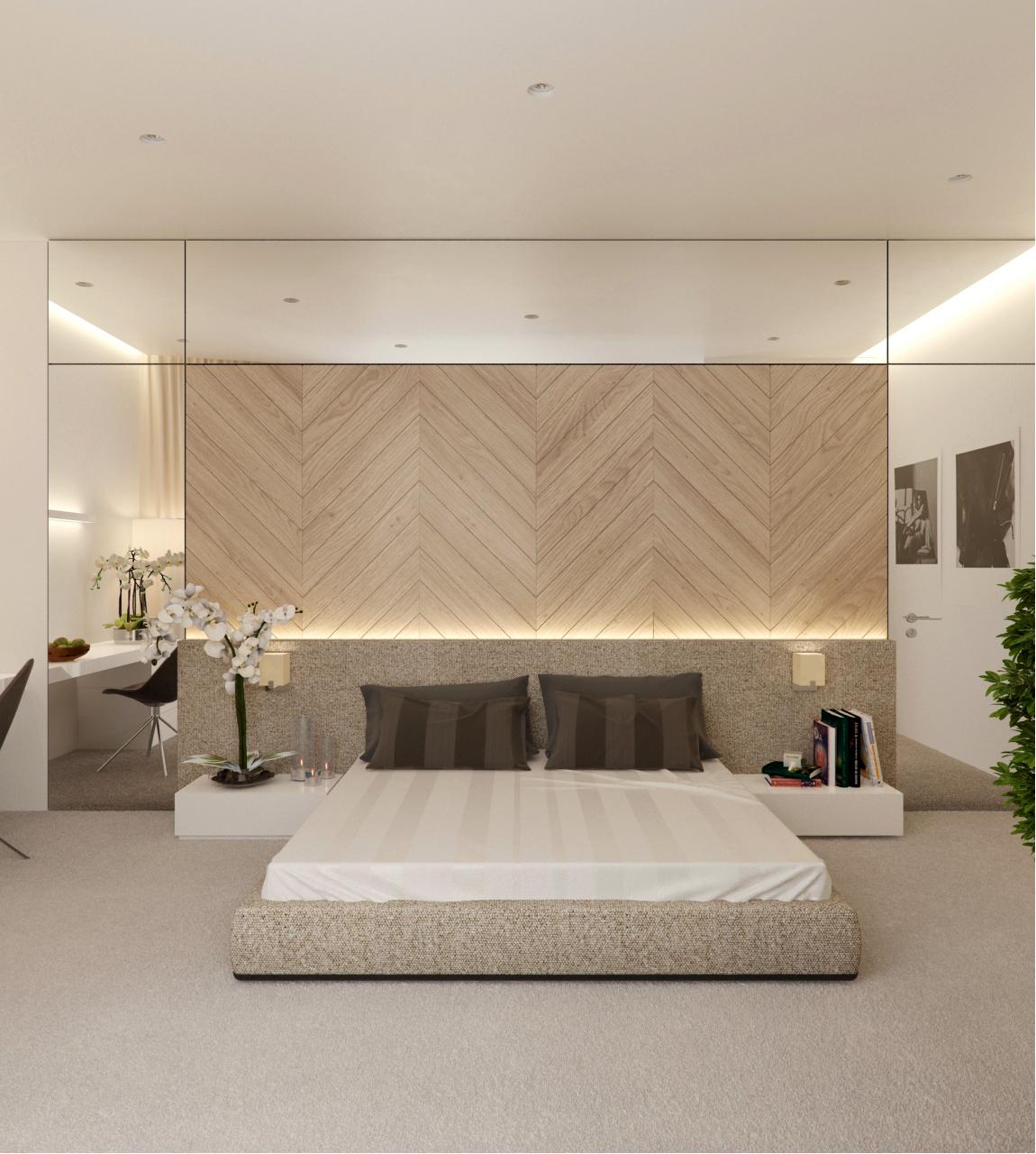 View In Gallery Dekorasi Master Bedroom Moden