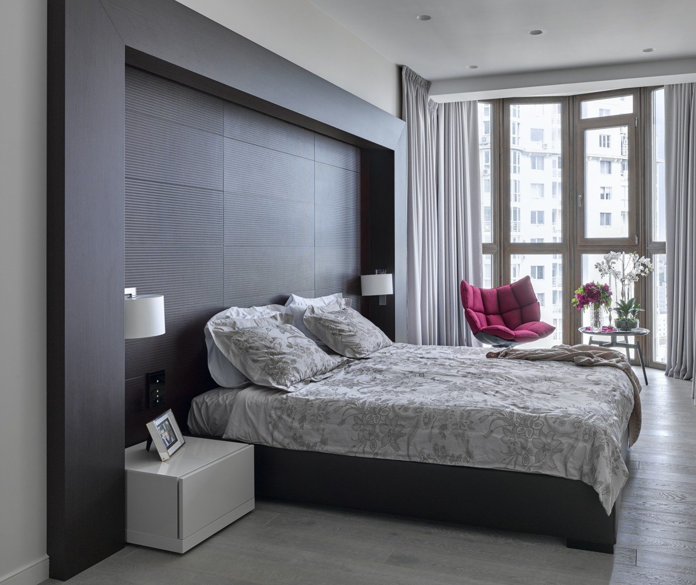 View In Gallery Hiasan Dalaman Bilik Tidur Apartmen A Elegan
