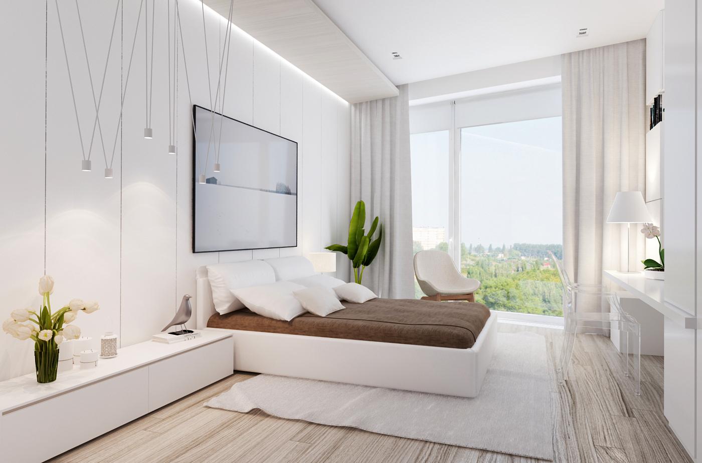 View In Gallery Hiasan Dalaman Dan Reka Bentuk Bilik Tidur Moden Mewah