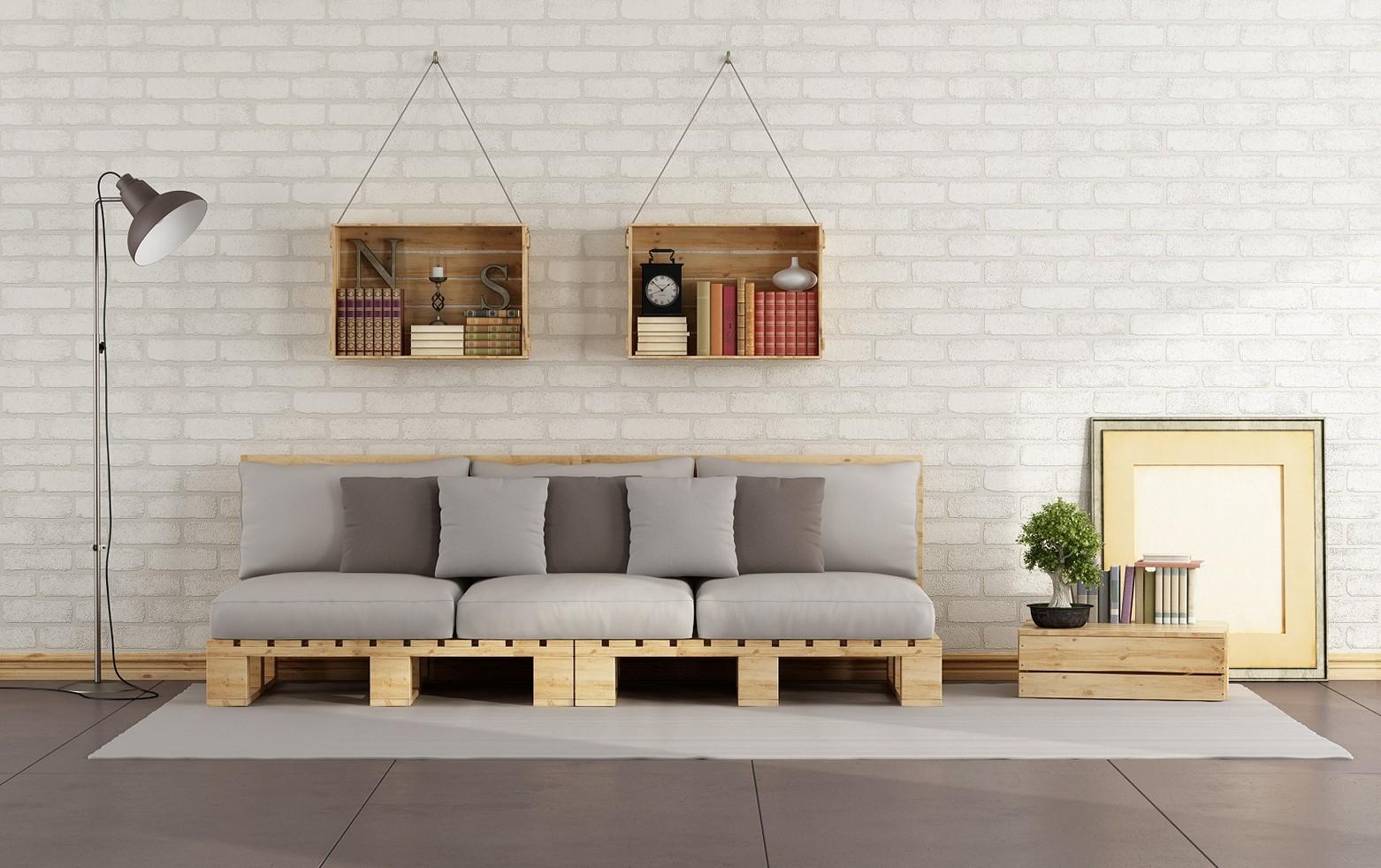 Hiasan Dalaman Paling Menarik Dengan Sofa Pallet