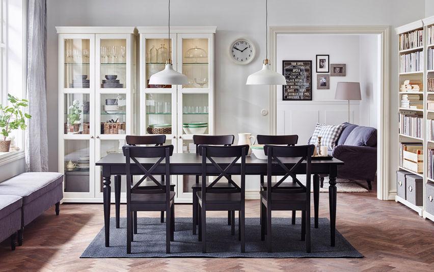 Idea Lampu Ruang Makan Dengan Konsep Traditional Dari Ikea