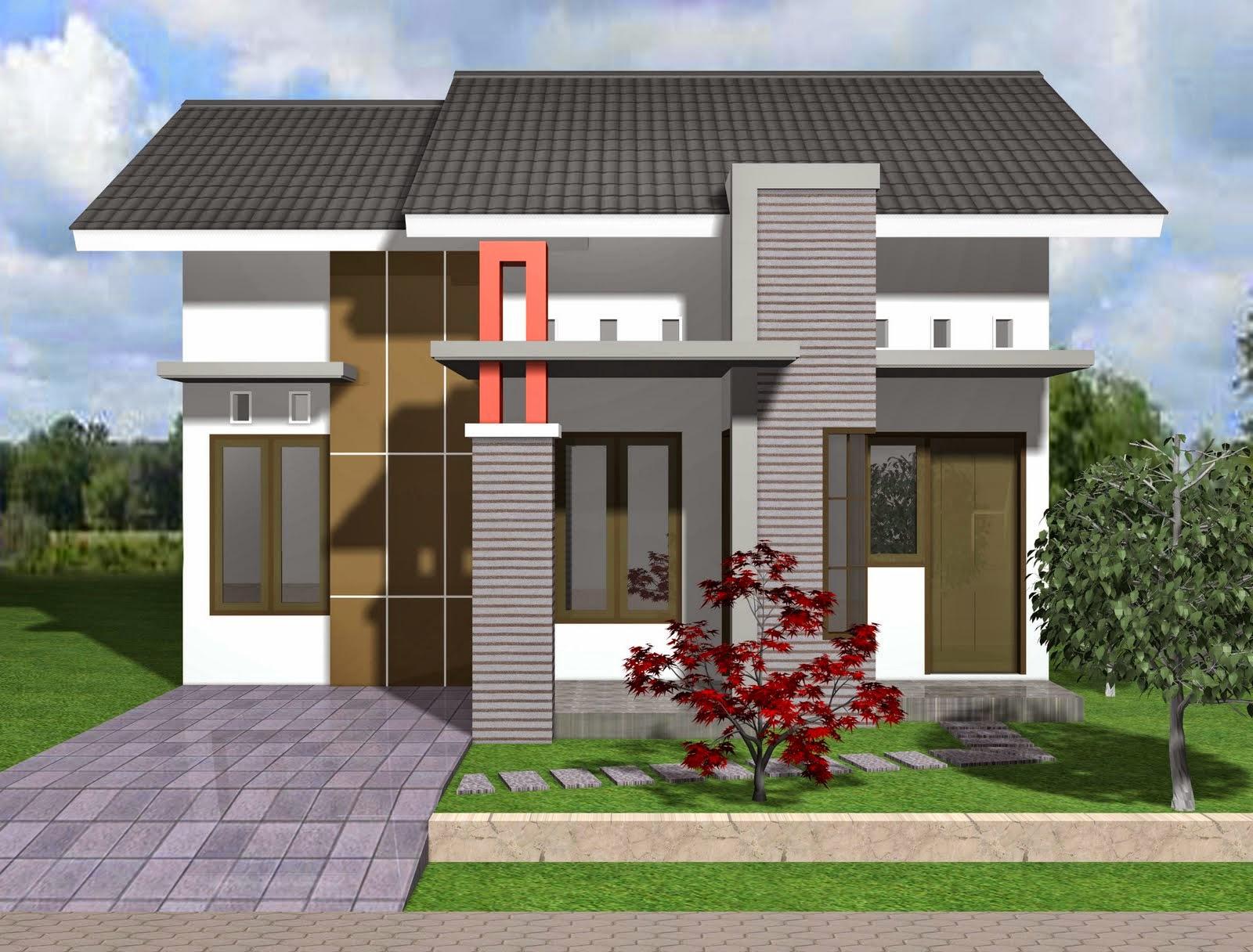 Model rumah banglo moden sangat sederhana tapi cantik