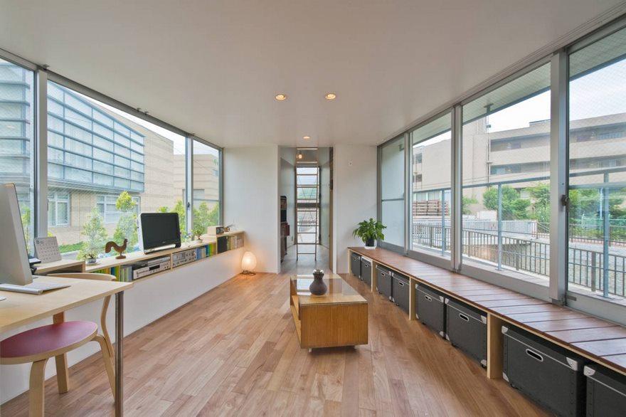 Reka bentuk rumah kecil dengan ruang yang selesa dan luas (8)