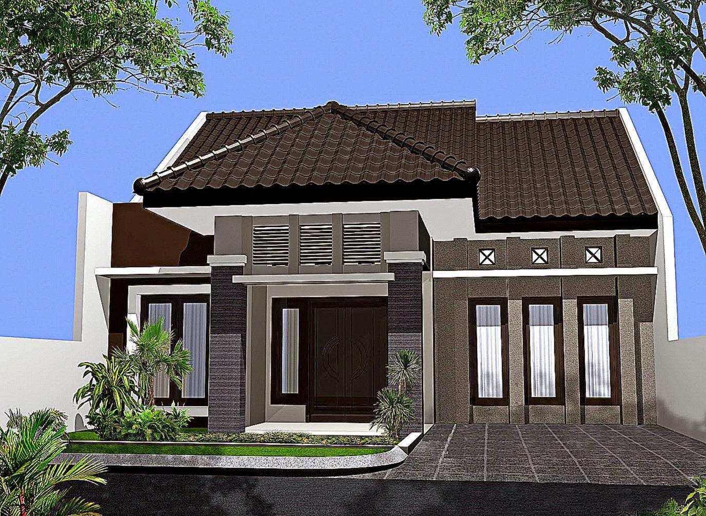 Reka bentuk rumah sederhana mewah 4 bilik