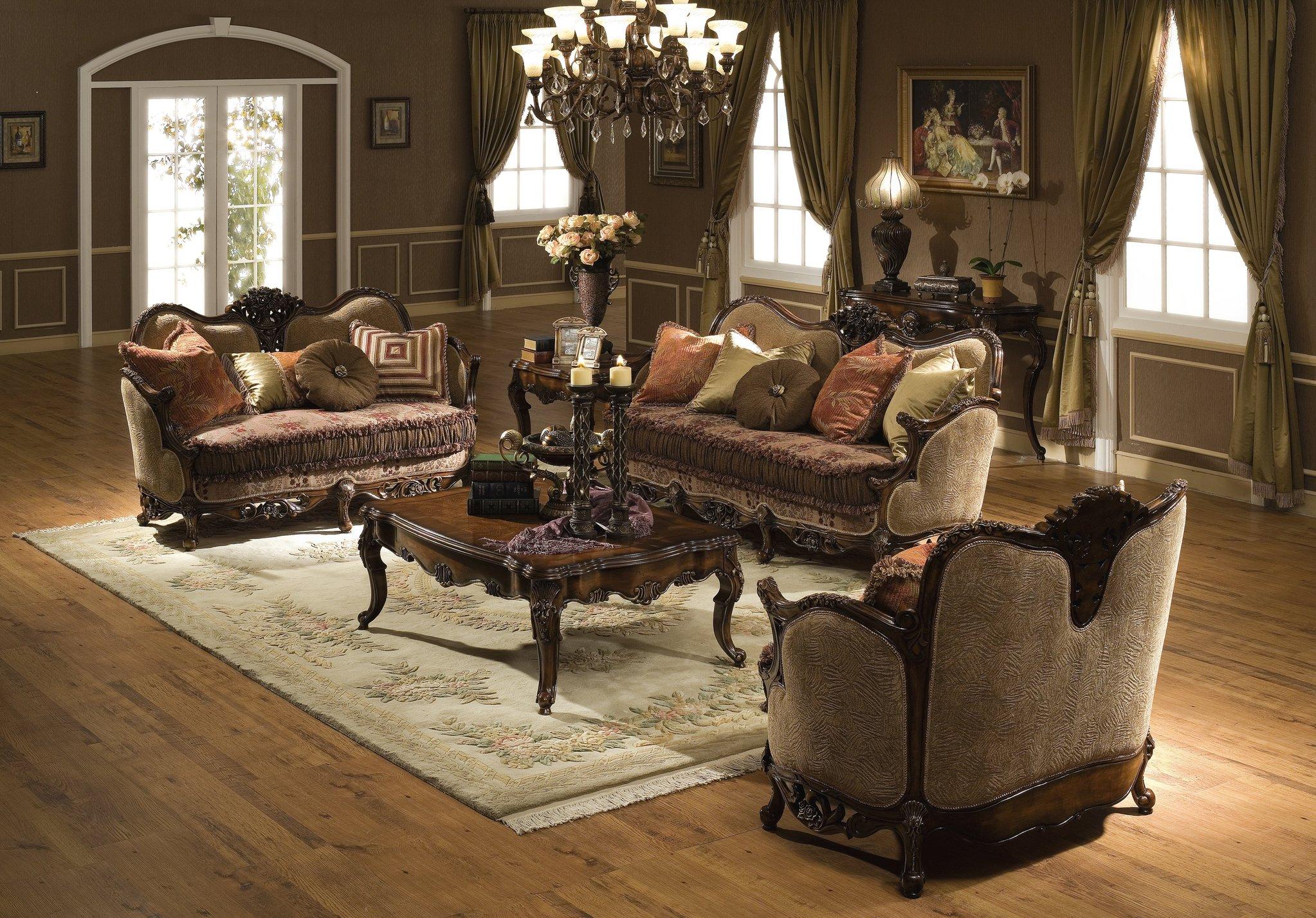 Set Perabot Ruang Tamu Klasik