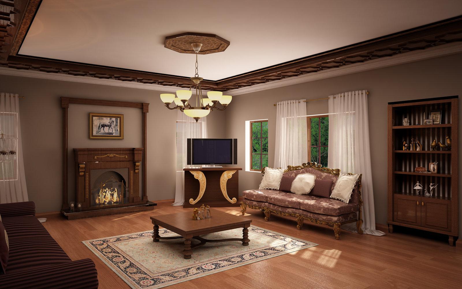 Susun Atur Perabot Di Ruang Tamu Klasik Ruang Tamu Klasik Membuat Mata Anda Sejuk Bila Memandang