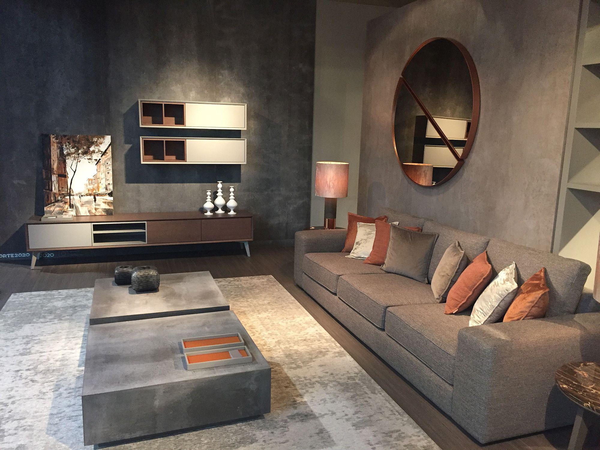 Idea Dekorasi Ruang Tamu Terkini Untuk Jimat Tukar Kepada Kabinet Rendah Dan Dinding