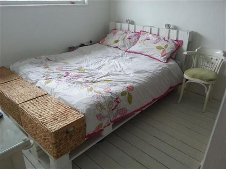 Buat diy katil kayu pallet mudah dan jimat