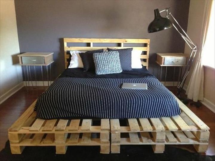 Image result for katil kayu pallet