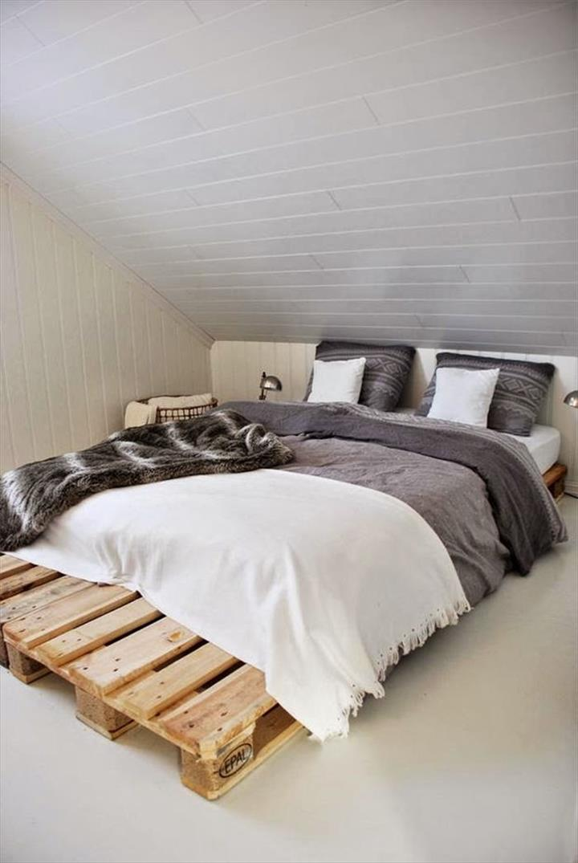 Perabot kayu palet menarik diy katil pallet