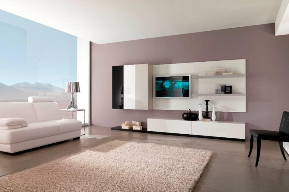Contoh cat ruang tamu minimalis dengan pemilihan warna lembut