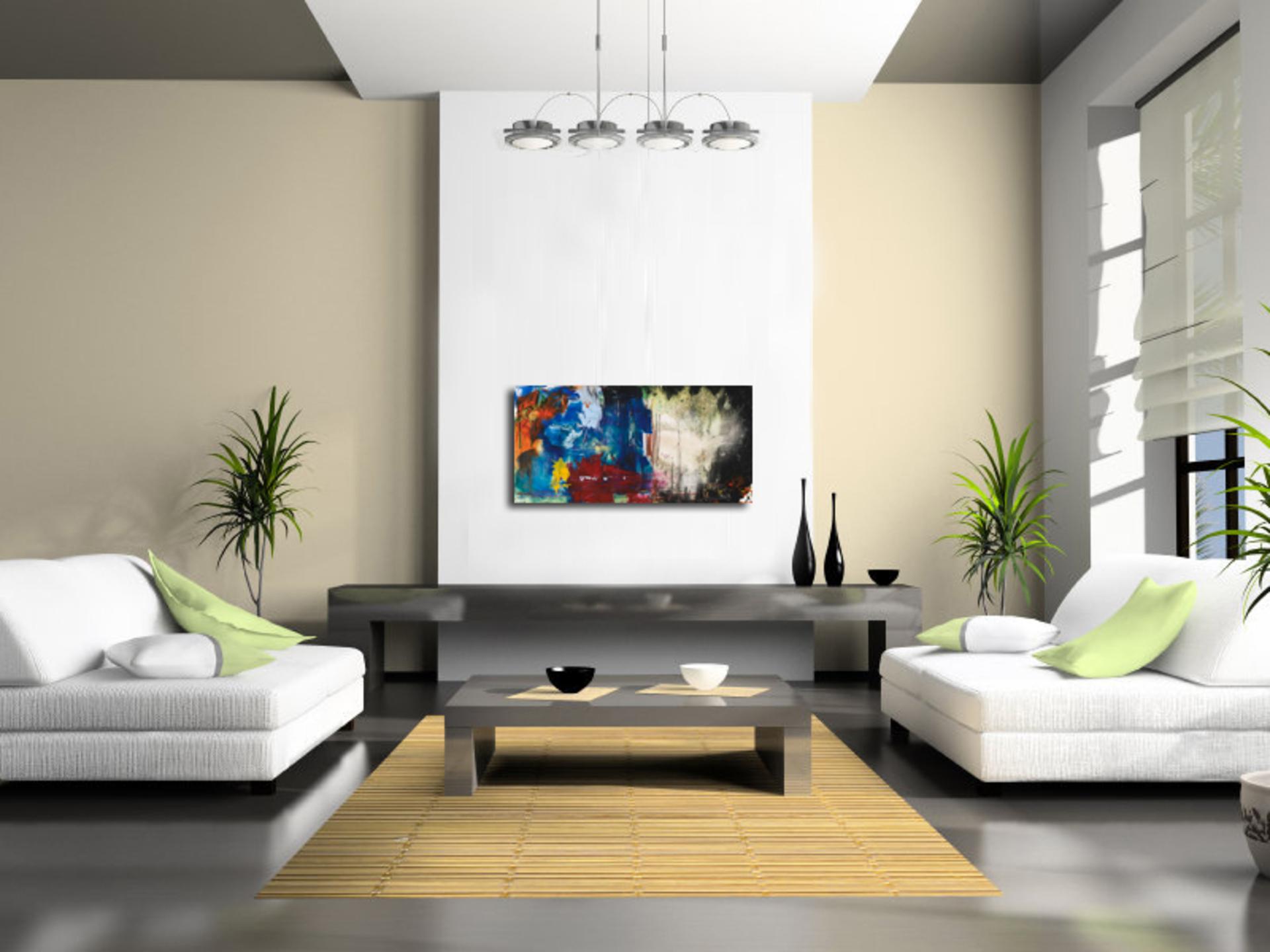 Ruang Tamu Moden Dan Simple