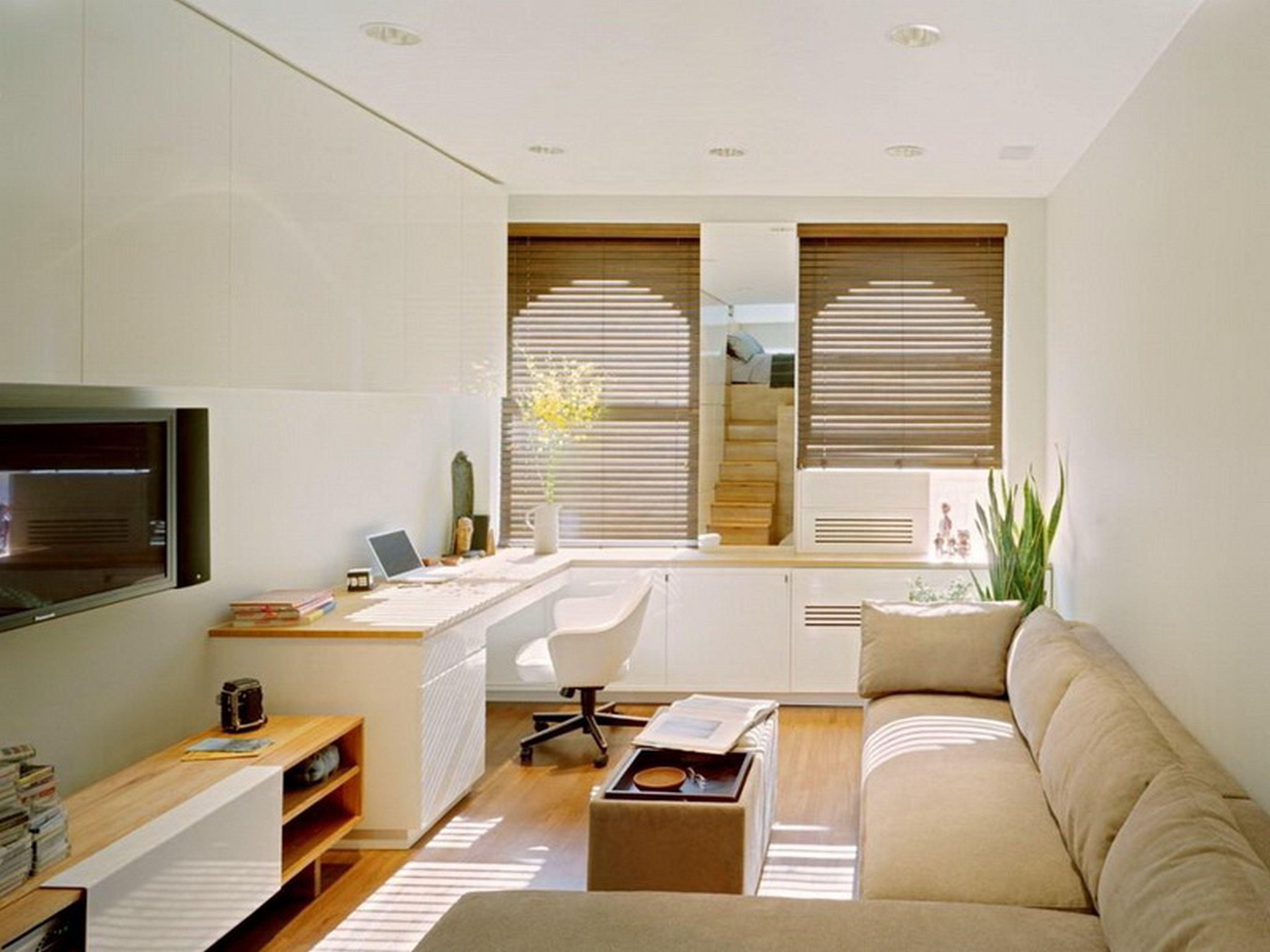 Dekorasi simple untuk ruang tamu minimalis rumah apartment